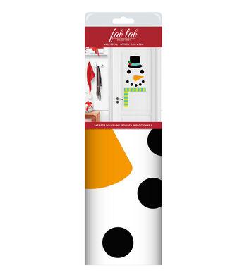 Fab Lab™ Holiday Craft Wall Decal-Snowman