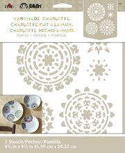 FolkArt® Handmade Charlotte™ Stencils - Suzani Spendor, , hi-res