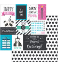 Cake Panda Party Double-Sided Cardstock 12\u0022X12\u0022-Panda Wishes