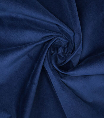 """Sportswear Stretch Corduroy Fabric 55""""-Navy"""