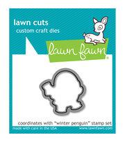 Lawn Fawn Lawn Cuts Custom Craft Die -Winter Penguin, , hi-res