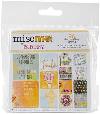 Misc Me Pocket Squares Journaling Cards-Faith