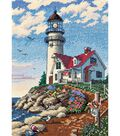 Dimensions Gold Counted Cross Stitch Kit Beacon At Rocky Point Petite