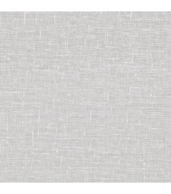Linge White Linen Texture Wallpaper