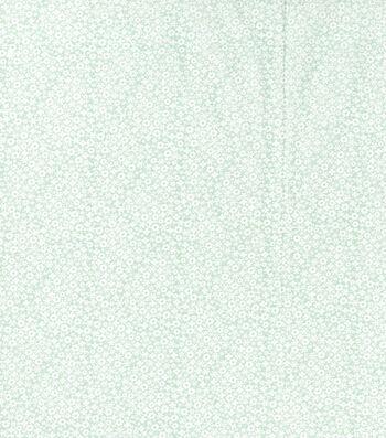"Keepsake Calico™ Cotton Fabric 43""-Pretty Ditsy Mint Green"