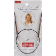 Deborah Norville Fixed Circular Needles 24'' Size 8/5.0mm, , hi-res