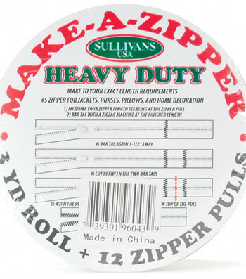 Make-A-Zipper Kit-Heavy Duty