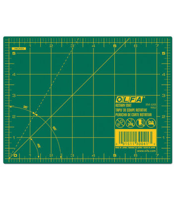 "Olfa®  Rotary Mat 5.5"" X 7.5""-Green"