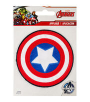 Marvel Comics™ Captian America Sheild Iron-On Applique, , hi-res