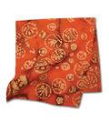 Batik Orange Bandanna