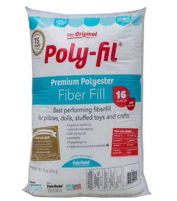 Poly-Fil Premium Fiber Fill 16 ounce Bag
