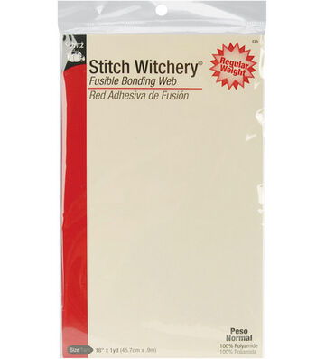 "Dritz 18"" Wide x 1Yd Stitch Witchery Sheet"