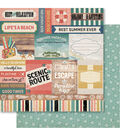 Bella! Summer Daze Double-Sided Cardstock-Good Times