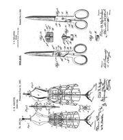 "Tim Holtz Cling Stamps 7""X8.5""-Inventor 3, , hi-res"