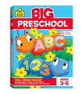 School Zone Big Workbook-Preschool
