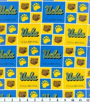 University of California, Los Angeles Bruins Cotton Fabric 43''-Block, , hi-res