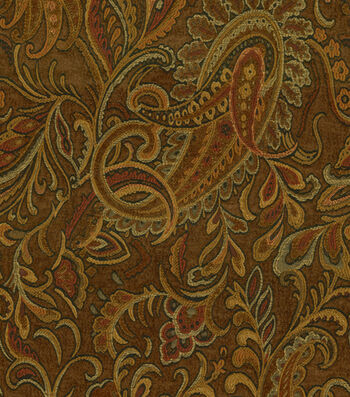 "Richloom Studio Home Decor Print Fabric 54""-Danegeld Chestnut"