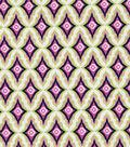 Keepsake Calico™ Cotton Fabric-Pink Garden Floral Stripe