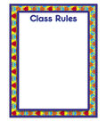 Busy Kids Learning Large Classroom Chart-Class Rules Kaleidoscope