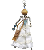 Laliberi Bohemian Doll Pendant-White Dress Summer, , hi-res