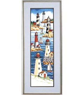 Janlynn Lighthouses Cntd X-Stitch Kit