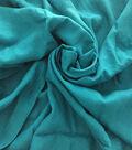 Nicole Miller Solid Linen Blend Fabric-Enamel Blue