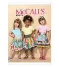 McCall\u0027s Girls Skirt-M7312