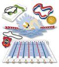 Jolee\u0027s Boutique Themed Ornate Stickers-Swim Team