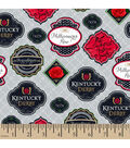Kentucky Derby Badges Cotton Fabric