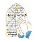 Imaginating Counted Cross Stitch Kit-Praying Hands