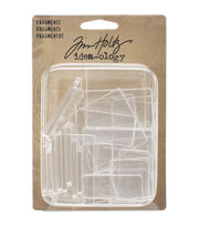 Tim Holtz - Advantus Idea-Ology Acrylic Rectangles & Squares Fragments, , hi-res