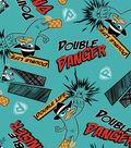 Phineas and Ferb Fleece Fabric 36\u0022-Agent P Danger
