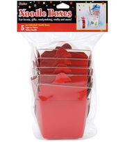 Darice 8 oz. Noodle Boxes-5PK, , hi-res