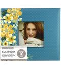 K&Company Mod Floral 8\u0022x8\u0022 Window Scrapbook