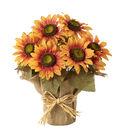 Blooming Autumn 13\u0027\u0027 Sunflower Potted-Orange