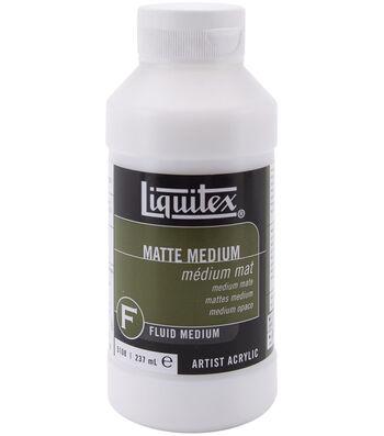 Liquitex Acrylic Matte Medium-8oz