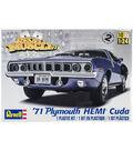 Plastic Model Kit-\u002771 Plymouth Hemi \u0027Cuda Hardtop 1:25