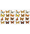 Home Decor Colorful Butterflies Wall Decals, 24 Piece Set
