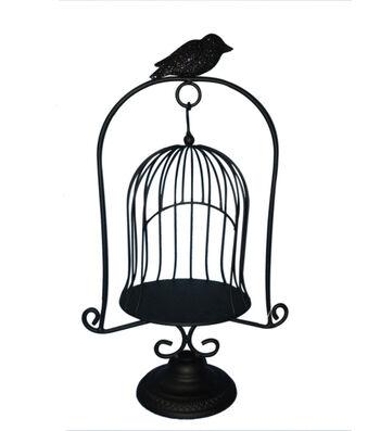 Maker's Halloween Decorative Metal Birdcage