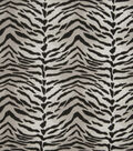 Eaton Square Upholstery Fabric 54\u0022-Tiger / Graphite