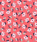 Nursery Flannel Fabric 42\u0027\u0027-Bright Small Floral