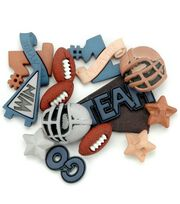Jesse James Dress It Up Sports Embellishments-Football, , hi-res