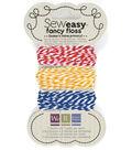 We R Memory Keepers Sew Easy Bakers Twine Floss Tertiary