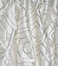 Waverly Embroidered Upholstery Fabric 54\u0027\u0027-Sterline Solstice
