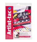 Grafix Artist-Tac 25pcs 8.5\u0027\u0027X11\u0027\u0027 Dry Transfer Adhesive Sheets