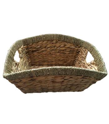 Organizing Essentials™ Waterhyacinth Basket With Handle