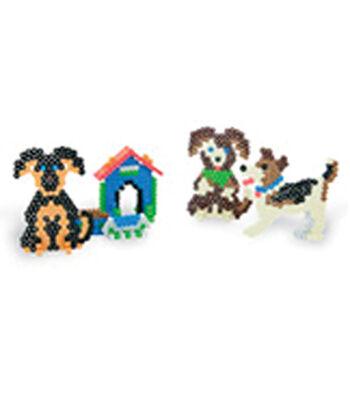 Perler Fun Fusion Fuse Bead Activity Kit-Cute Puppies