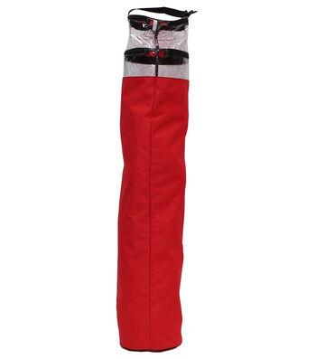 Circular Gift Wrap Storage Bag-Red