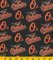 """Baltimore Orioles Cotton Fabric 58""""-Logo, , hi-res"""