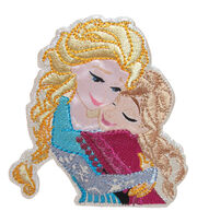 Disney® Sisters Frozen Iron-On Applique, , hi-res